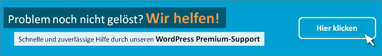 WordPress Premium Support