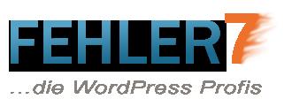 FehlerSieben WordPress Profis Logo