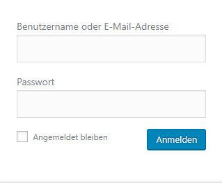 WordPress Passwort wiederherstellen